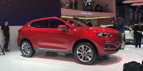 Haval rolls out new SUVs, turbo engine in Beijing