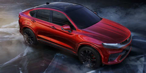 Geely FY11 'Sports Coupe SUV' revealed