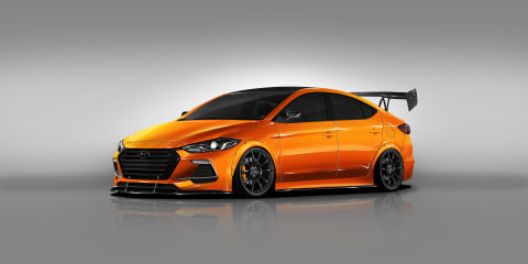 Hyundai Elantra BTR Edition revealed for SEMA