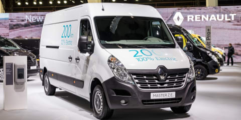 Renault adds updated Kangoo ZE, new Master ZE to electric commercial van range