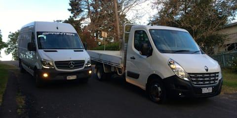 Van v ute comparison: Mercedes-Benz Sprinter v Renault Master