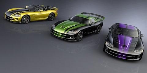 Dealer exclusive Dodge Viper SRT10 cars revealed