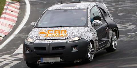 Opel Adam spy shots
