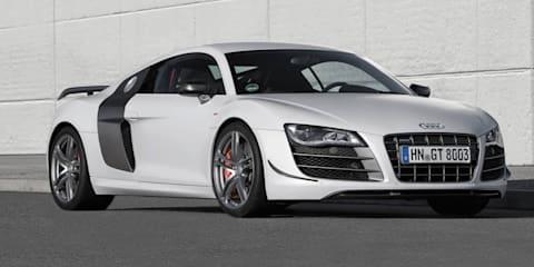2014 Audi R8 built around carbon fibre chassis