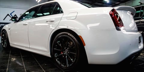 2017 Chrysler 300 SRT Hyperblack review