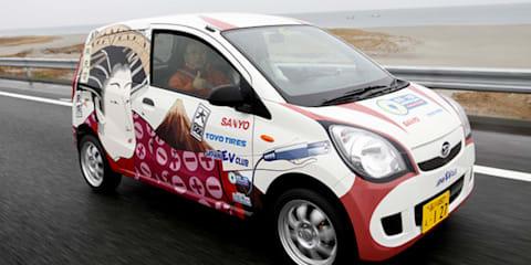 Electric Daihatsu Mira travels 1000km on one charge