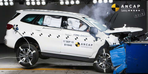 ANCAP crash test results: Five stars for Fortuner, Everest, Passat and more