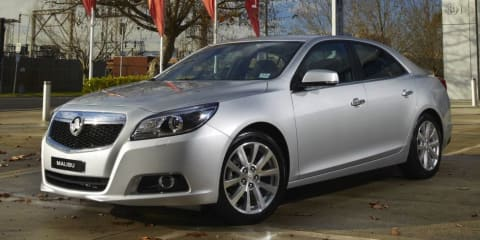 2013 Holden Malibu: all-new medium sedan makes Australian debut