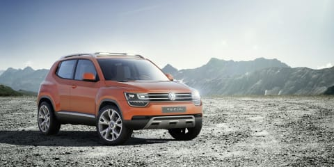 Volkswagen Taigun mini SUV : second iteration concept receives several tweaks