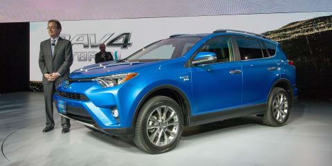 Toyota RAV4 Hybrid unveiled in New York, not coming to Australia