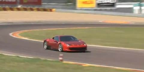 Video: Ferrari 458 Challenge tested at Fiorano