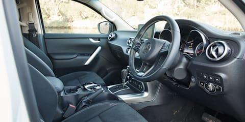 2018 Mercedes-Benz X-Class X250d Power v Ford Ranger Wildtrak comparison