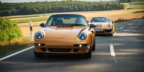 Porsche 911 Turbo 'Project Gold' revealed