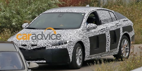 2018 Holden Commodore captured?