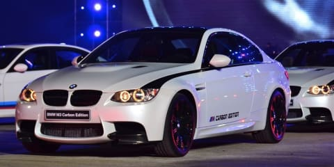 BMW M3 Carbon Edition announced in China