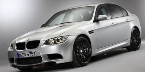 BMW M3 CRT sedan unveiled