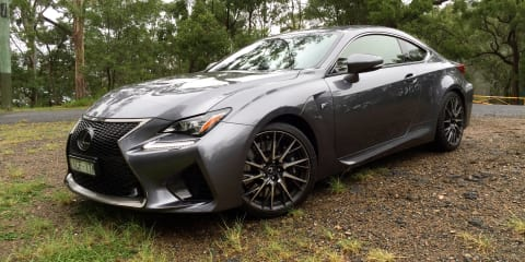 2015 Lexus RC F Review