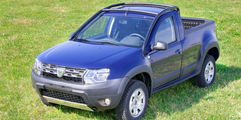Dacia Duster ute confirmed for limited production run