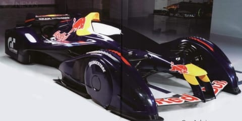 Red Bull X1 Gran Turismo car brought to life