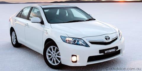 Toyota Camry Hybrid set to race in Targa Tasmania