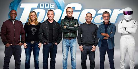 Top Gear announces its 'magnificent seven' ahead of May 2016 return: Evans, LeBlanc, Schmitz, Harris, Jordan and Reid