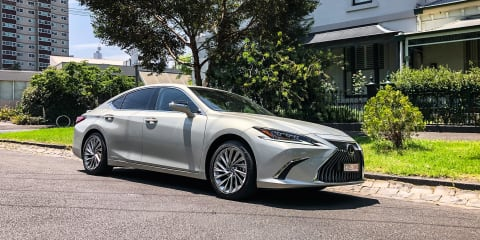 2018 Lexus ES300h... not just a tarted-up Camry
