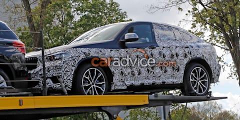 2018 BMW X4 spied
