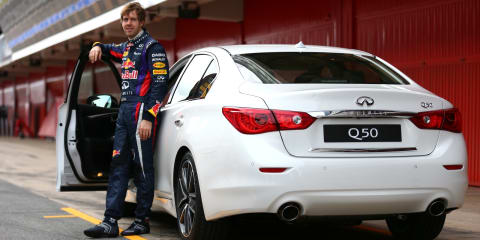 Infiniti signs Sebastian Vettel as director of performance