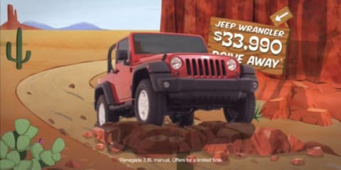 Chrysler launches new 'Off-Road Runner' TV campaign