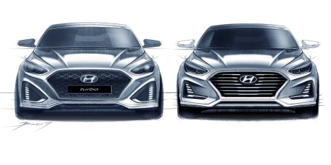 2018 Hyundai Sonata facelift sketches go official - UPDATE