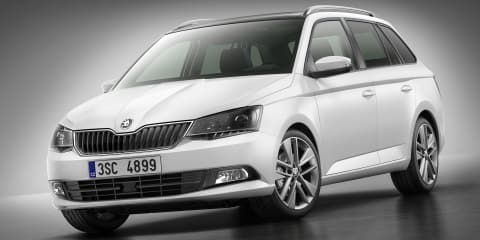 Skoda Fabia wagon revealed ahead of Paris debut