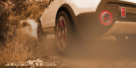 Kia Trail'ster : Turbocharged, AWD Soul-based hybrid concept teased again