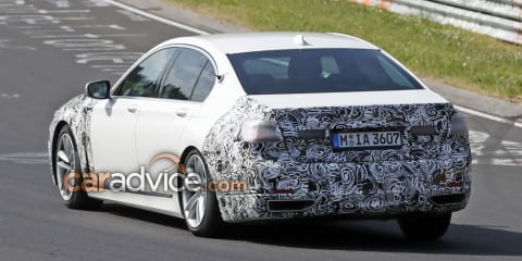 2019 BMW 7 Series facelift spied