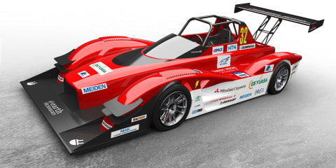 Mitsubishi MiEV Evolution III ready to tackle Pikes Peak