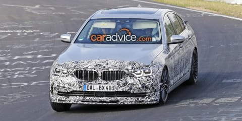 2017 Alpina B5 teased ahead of possible Geneva debut: video