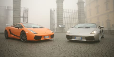 Full Throttle in Italy