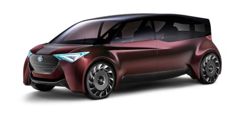 Toyota reveals fuel-cell concepts for Tokyo