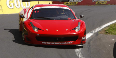 Ferrari 458 GT3 sets new Bathurst lap record