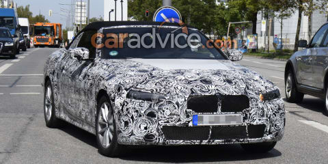 2020 BMW 4 Series Convertible spied again