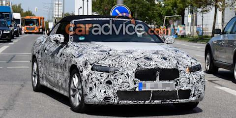 2020 BMW 4 Series Convertible spied again