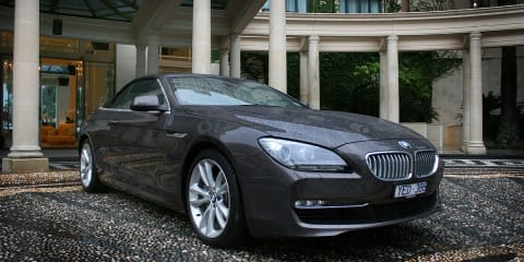 BMW 6 Series Convertible preview