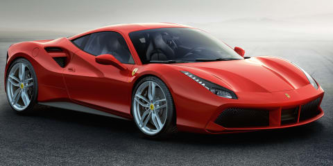 Ferrari 488 GTB: mid-engine turbo V8 supercar unveiled
