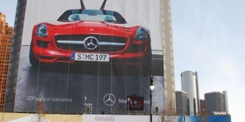 Mercedes-Benz goes larger than life at Detroit