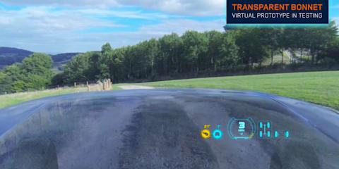 Land Rover reveals virtual Transparent Bonnet technology