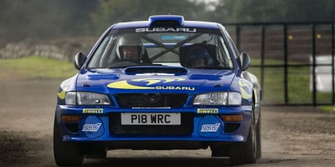 First Impreza WRC for sale by Prodrive