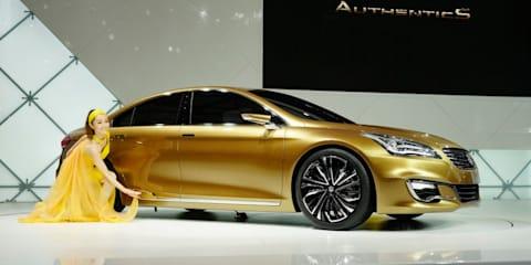 Suzuki Authentics concept to be the real SX4 sedan