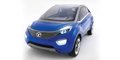 Tata Nexon compact SUV concept revealed