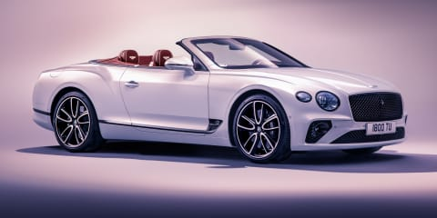 2019 Bentley Continental GT Convertible revealed, here in Q2 2019 - UPDATE