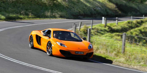 McLaren MP4-12C production halted - report
