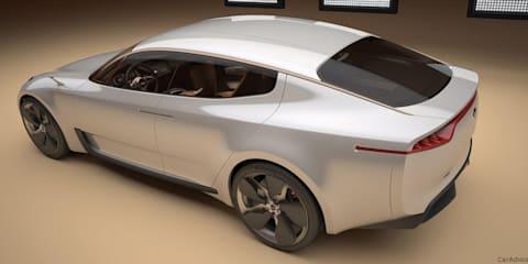 Kia sports sedan concept previewed ahead of Frankfurt show